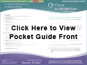 Select to View the Qi Gong for Weight Loss Pocket Routine Guide