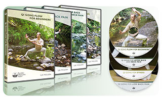 Qi Gong 4-Pack #1- Flow, Stress, Upper Back, Low Back