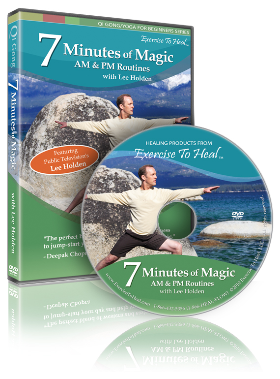 7 Minutes of Magic: AM/PM Qi Gong - The Ultimate Energy Workout, by