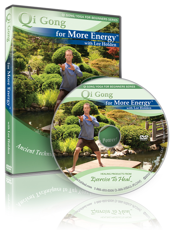 QiGong DVD for More Energy with Lee Holden