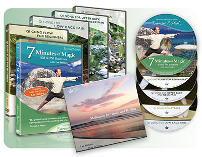 Lee Holden Classic Qi Gong Pack Click to View Larger Image