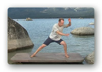 A screen shot from Qi Gong Deeper Flow