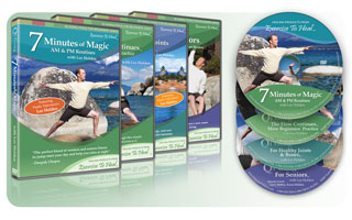 Qi Gong 4-Pack #2 - Flow Continues, Seniors, Joints & Bones, 7 Minutes of Magic